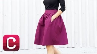 getlinkyoutube.com-Sew a Skirt with Deborah Kreiling from Simplicity Patterns I Creativebug