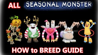 getlinkyoutube.com-My Singing Monsters HowToBreed ALL SEASONAL MONSTERS (Punkleton, Yool, Schmoochle, Blabbit, Hoola)