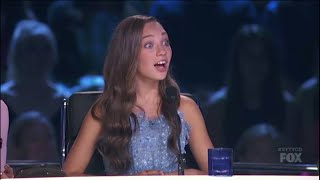 getlinkyoutube.com-Maddie Ziegler Judging And At Rehearsals On SYTYCD: THE NEXT GENERATION! (S13,E6) HD