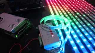 getlinkyoutube.com-How to build an LED Display, #1 Basic Wiring and Setup of WS2801 LEDs