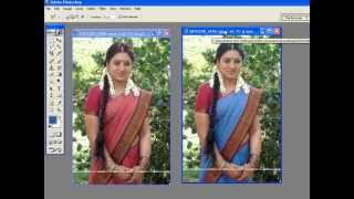 getlinkyoutube.com-How to change Dress color in easy way using PHotoshop(9014819428)