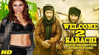 Welcome To Karachi (2015) Promotion Events Full Video | Jackky Bhagnani | Arshad Warsi