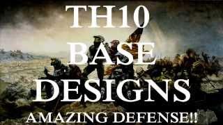 getlinkyoutube.com-TH10 Base Designs: Amazing Defense Zero STARS!!