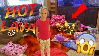 Hot Lava Children's Game - The Floor is Lava - Kids Hardest Game Ever