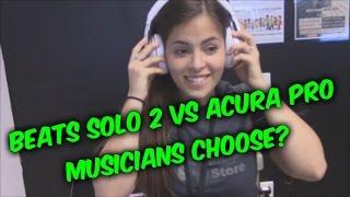 getlinkyoutube.com-Beats Solo 2 wireless headphones vs Acura Pro Bluetooth headset review