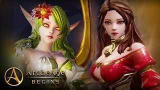 ArcheAge BEGINS - Low level Gameplay - Global CBT - F2P - Android