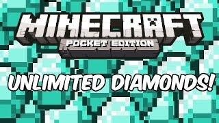 getlinkyoutube.com-INFINITE DIAMONDS! - Minecraft: Pocket Edition Cheat/Glitch/Hack