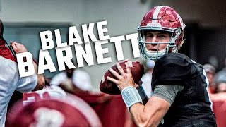 Blake Barnett highlights from Alabama's 2016 A-Day spring game