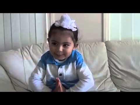 Names of ten guru shaban by a cute child