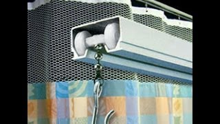 Video Easy Hang Curtain Track System