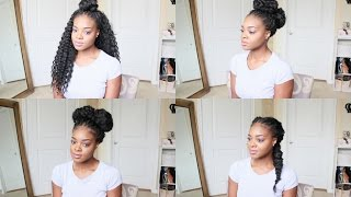 getlinkyoutube.com-Styling Crochet Braids