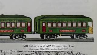 Classic Lionel Trains - Middle Series Passenger Cars 1925-1933