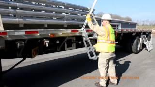 getlinkyoutube.com-The Trucker Flatbed Trailer Ladder