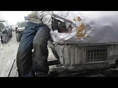 Mercedes Benz E Кузовной ремонт в Армении repair in Armenia