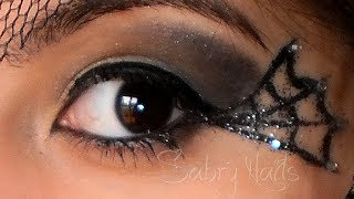 getlinkyoutube.com-Halloween make up tutorial : Strega , witch