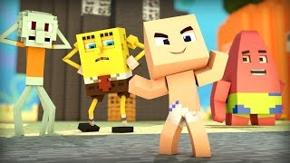 Minecraft - WHO'S YOUR DADDY? - ADOTADO PELO BOB ESPONJA ( SpongeBob )