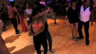 getlinkyoutube.com-Ernesto & Selene, Terry Tauliaut, Ricardo & Alien - Social Dancing Reel at the Salsa Mambo Fest 201