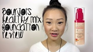 getlinkyoutube.com-First Try Review ♥ Bourjois Healthy Mix Foundation (Radience Reveal Fruit Therapy)