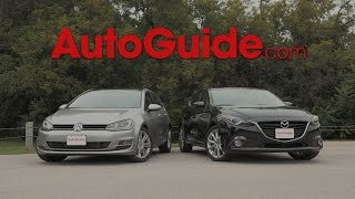 getlinkyoutube.com-2015 Mazda3 vs. 2015 Volkswagen Golf