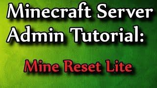 getlinkyoutube.com-Minecraft Admin How-To: Mine Reset Lite (/mrl)