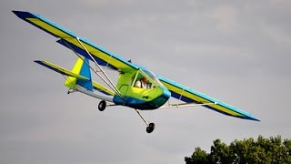 getlinkyoutube.com-Learn to fly the Hawk Ultralight Aircraft Landings Stalls Roy Dawson video