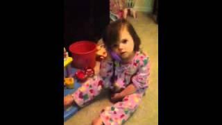 getlinkyoutube.com-Katherine plays in dollhouse