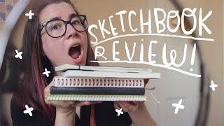 My favourite sketchbooks + sketchbook TOUR! ~ Frannerd