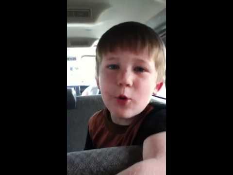 Kid makes crazy noises