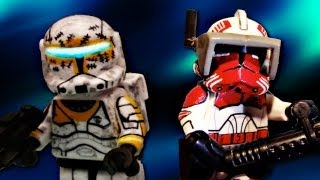 getlinkyoutube.com-LEGO Star Wars : The Clone Wars | Custom Commando Gregor & Commander Thorn - Showcase