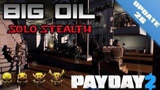 getlinkyoutube.com-Payday 2 Big Oil Deathwish Solo Stealth