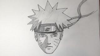 getlinkyoutube.com-Como desenhar Naruto Shippuden passo a passo fácil
