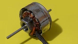 getlinkyoutube.com-Homemade Brushless Outrunner Electric Motor BLDC DC