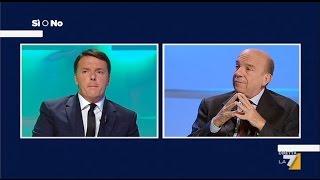 Italia: Referendum Si o No - Matteo Renzi vs Gustavo Zagrebelsky