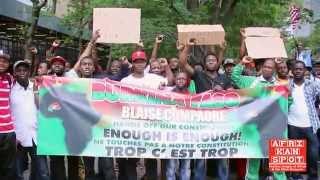 Protestation des Burkinabés de NY contre une révision de l'article 37
