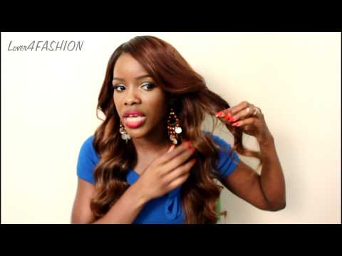 New Hair Color + New Custom Lace Closure From The Virgin Hair Fantasy