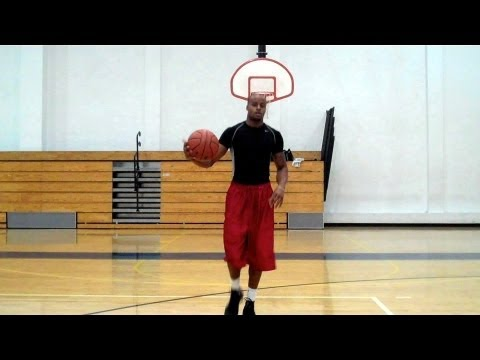 High Rip Move, 3x Thru-Legs Left Hand Layup | Dre Baldwin