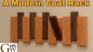 getlinkyoutube.com-A Modern Coat Rack