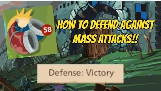 getlinkyoutube.com-How to Defend Against Mass Attacks | Goodgame Empire Tutorials