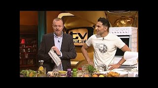 getlinkyoutube.com-Vegan kochen mit Attila und Stefan Raab - TV total