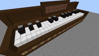 getlinkyoutube.com-Minecraft ピアノ