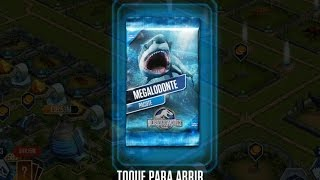 getlinkyoutube.com-Jurassic World - The Game - Megalodon Pack (Pacote Megalodonte)