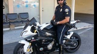 getlinkyoutube.com-Long Beach Police Motor Patrol BMW S1000RR Show Bike ~ Donated By Long Beach BMW