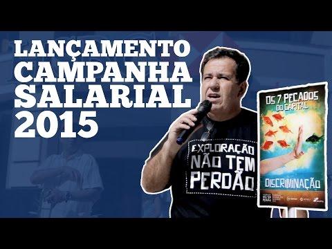 Lançamento da Campanha Nacional 2015
