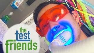 getlinkyoutube.com-We Tried Professional Teeth Whitening • The Test Friends