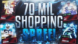 getlinkyoutube.com-70 Million Coin Shopping Spree!? - Madden Mobile 16