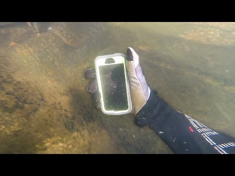 Found Lost iPhone in River While Scuba Diving! (Returned to Owner)