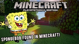 getlinkyoutube.com-SPONGEBOB FOUND IN MINECRAFT! PS4/PS3/XBOX ONE/ XBOX 360 (HD)
