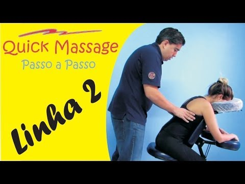 Aula de Quick Massage em vídeo!