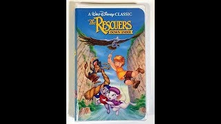 Opening To The Rescuers Down Under 1991 VHS