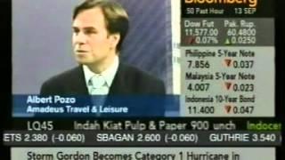 Albert Pozo Bloomberg Interview